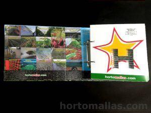 Muestrario de productos HORTOMALLAS