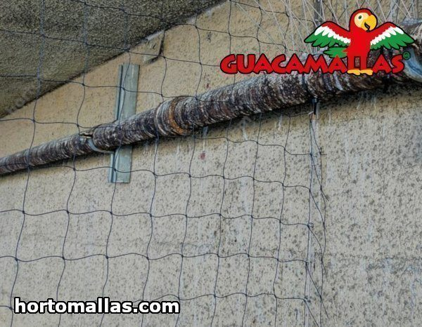 Tipos de Mallas anti-aves para Viñedos y Bodegas.