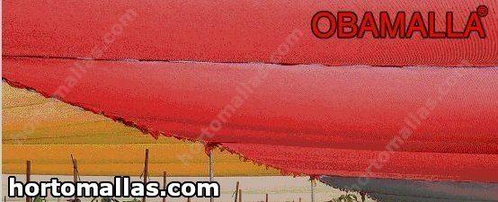 As malhas/redes de sombra coloridas OBAMALLA® são feitas de um material de alta qualidade.