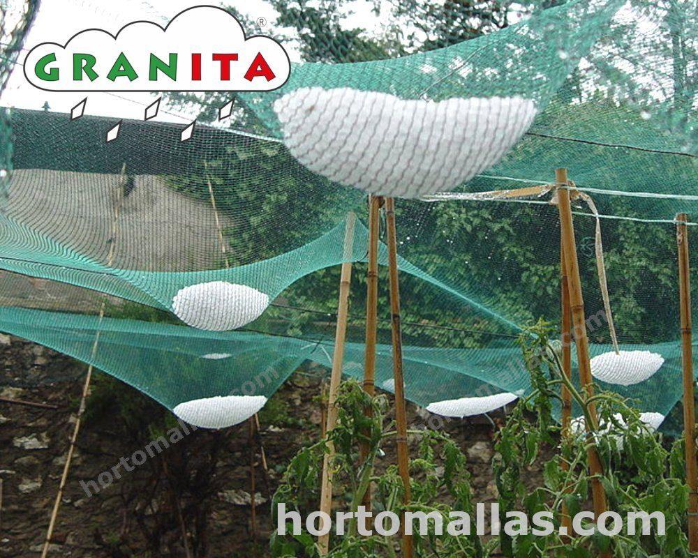 Con instalación la Red GRANITA® anti granizo, la granizad no volverá a ser un problema.
