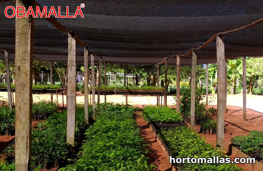 Horticultural shade cloth is an excellent aid for stabilizing temperatures for crops.