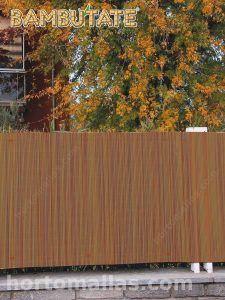 rejillas de bamboo para el uso de privacidad