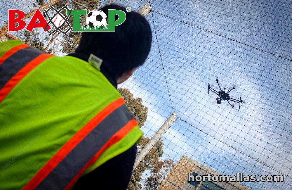 Malla BAXTOP® y dron