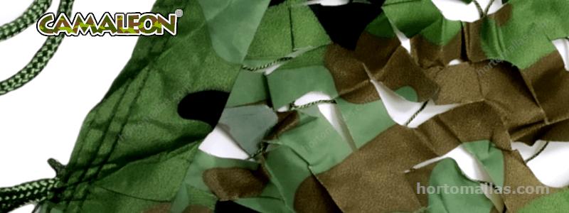 Que tipos de redes y mallas CAMALEON® para camuflaje militar existen en el mercado hoy en día?
