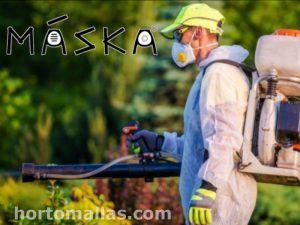 MASKA® Mascarillas de Protección para Aplicación de Agroquímicos