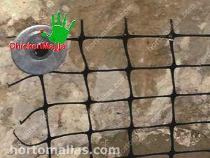 Malla de Plastico para enjarrar, refuerzo de concreto