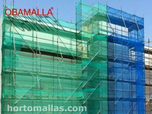 Netting for Scaffolding and Protection of work sitea