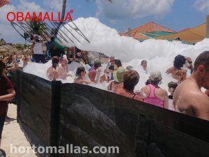OBAMALLA® Malla para Fiestas de Espumas