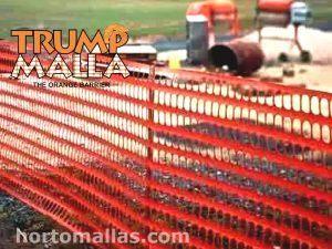 TRUMPMALLA® Malla Seguridad para Obras en Construcción