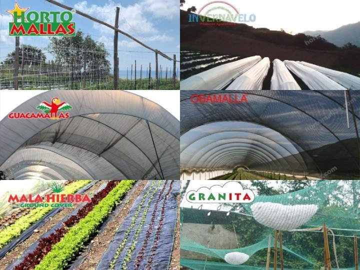 Como incrementar la rentabilidad de campos hortícolas usando la alta calidad de las mallas agrícolas profesionales HORTOMALLAS a precios bajos