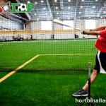 Malla perimetral para deportes BAXTOP, uso en campo de beisbol.