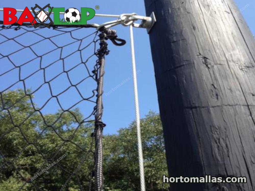 red BAXTOP® instalada como portería