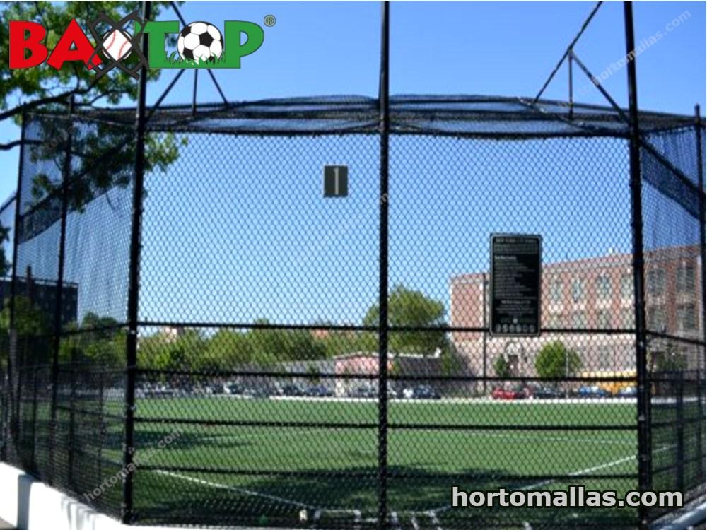campo de beisbol con Malla de protección BAXTOP