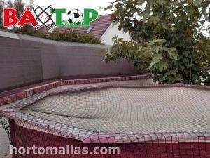 Malla Seguridad para piscinas, protección de basura y accidentes