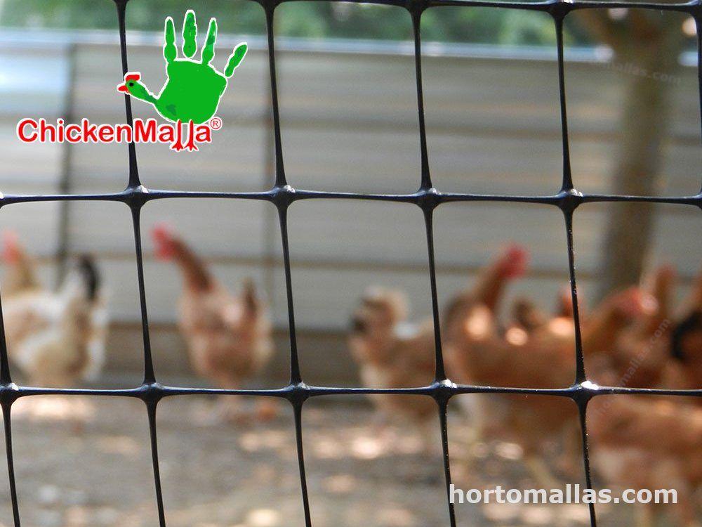 Chickenmalla facil instalacion elaborada con polipropileno