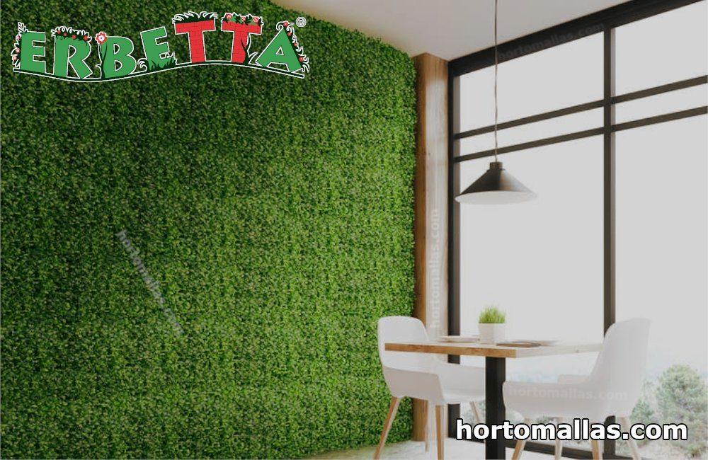 muros verdes ERBETTA® interiores.