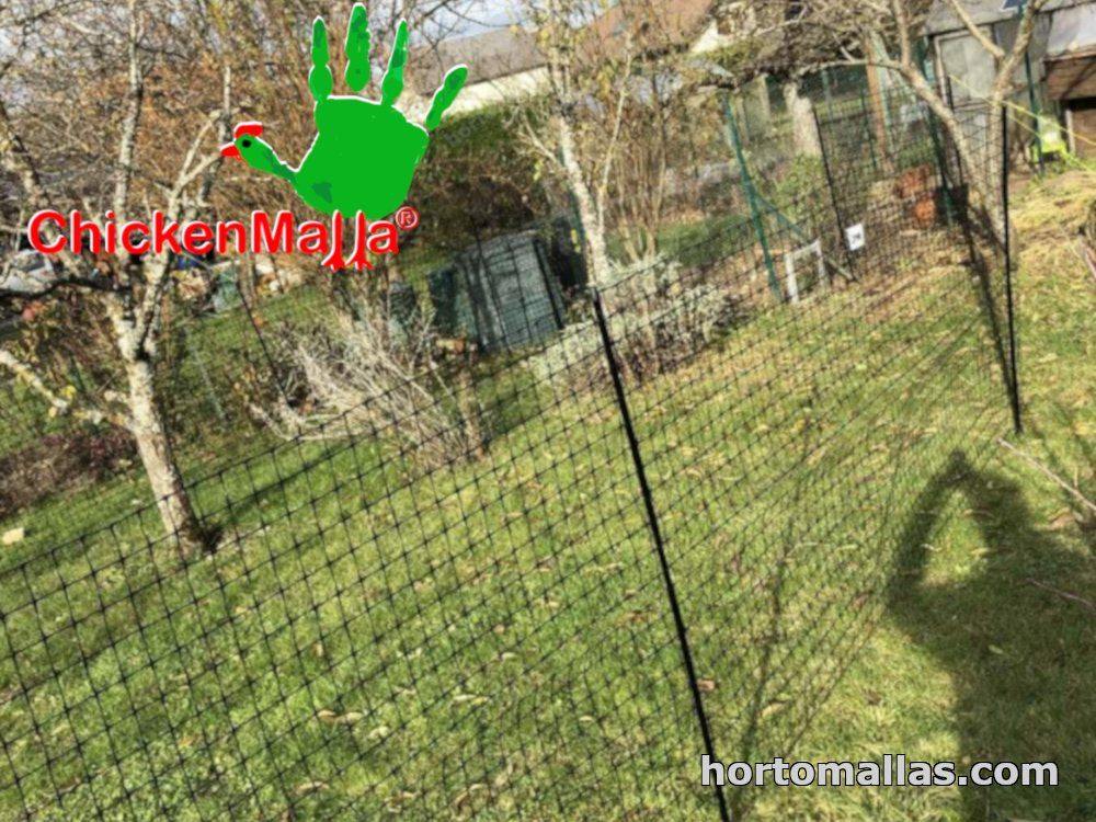 malla jardinera
