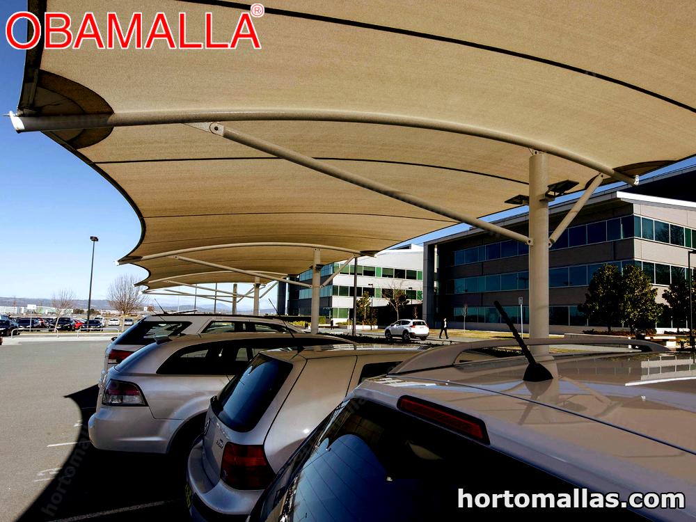 Fotos de Malla sombra para estacionamientos