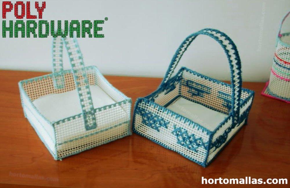 separador hecho con polihardware mesh