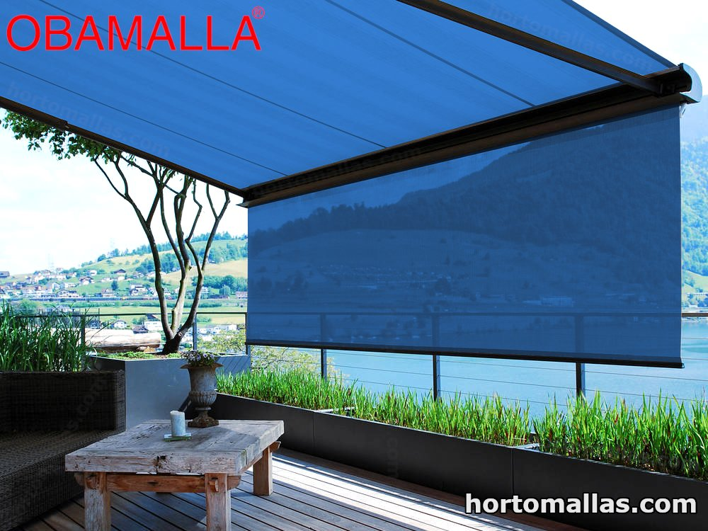 Fotos Malla Sombra OBAMALLA Enrollable y Movible