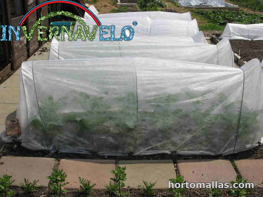 tunel made with frost fabric