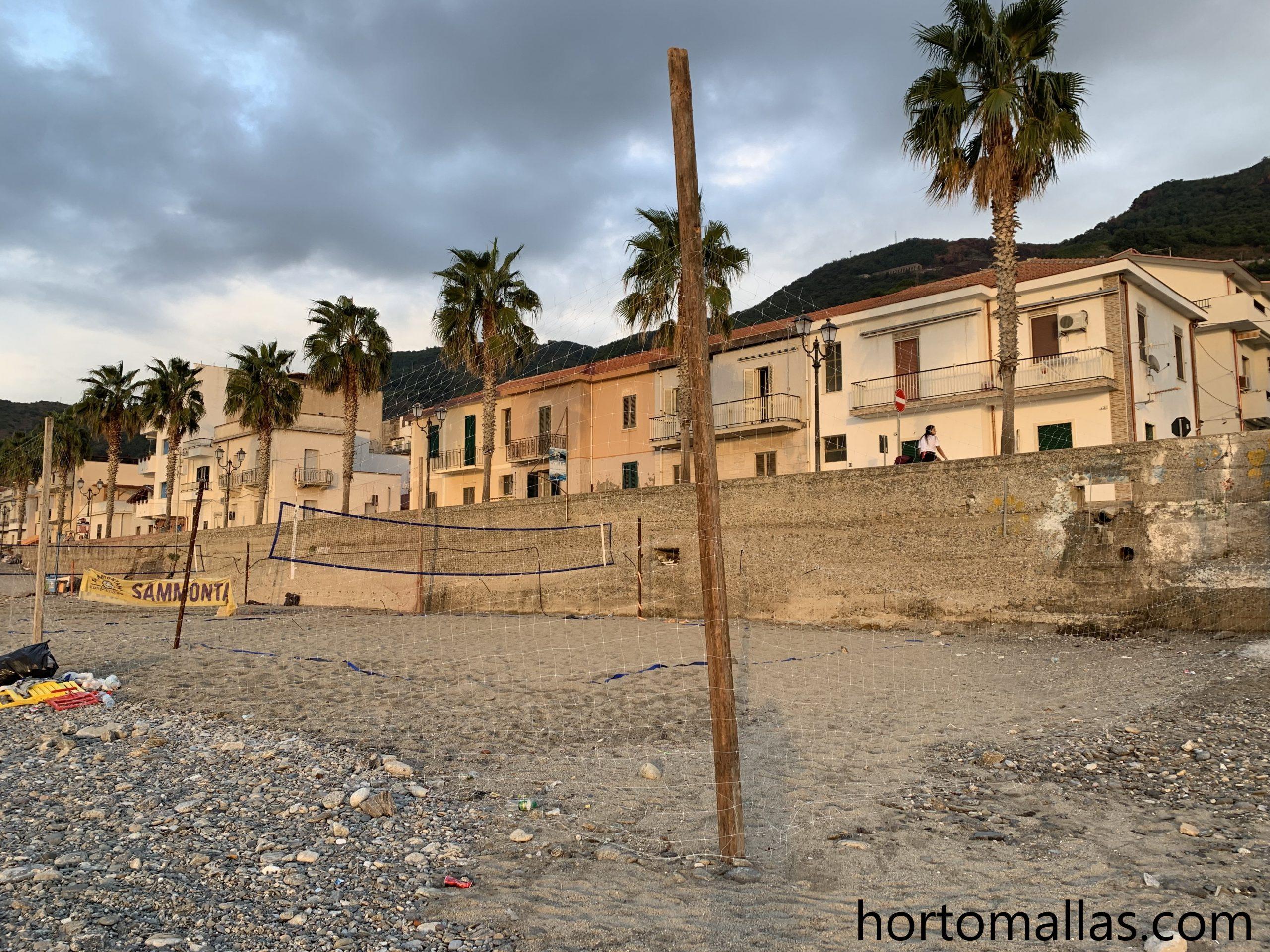 Redes Perimetrales para playa. Malla para canchas de voleibol.